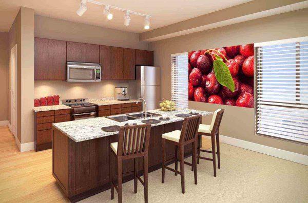 кухня является не только местом для кулинарных фантазий – здесь семья проводит большую часть времени, поэтому должен присутствовать уют