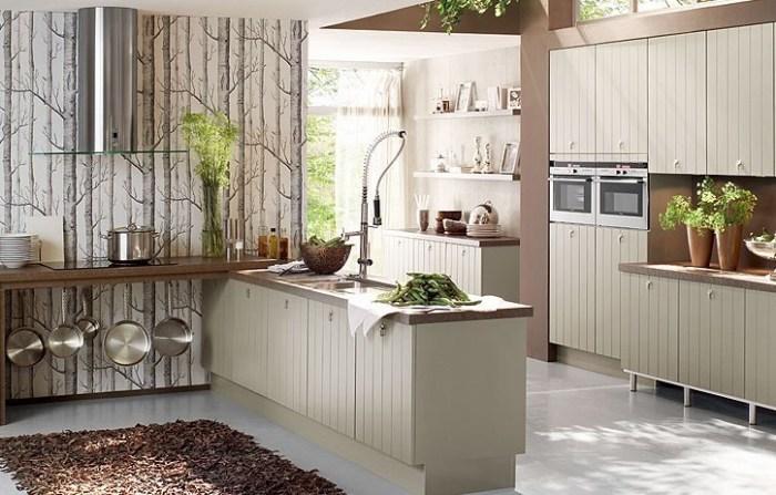 Кухня в европейском стиле.