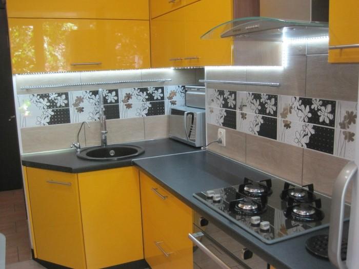 Маленькая кухня дизайн.