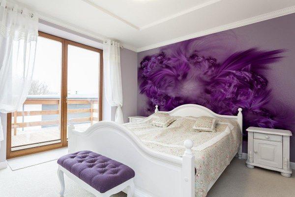 Выбор обоев для спальни огромен-выбирайте лучшее