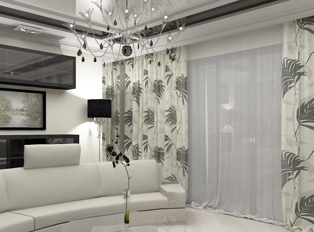 картинки воздушные шторы для гостиной фото что