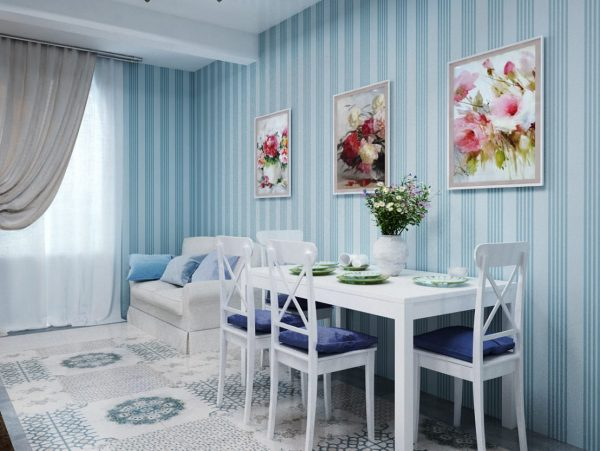 Белый цвет – один из трех на классической палитре оттенков, это беспроигрышный вариант для кухни любых параметров.