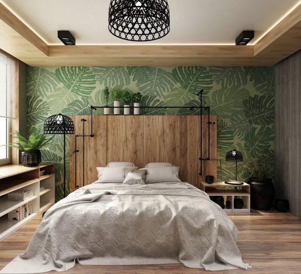 Для того чтобы уравновесить цветовое восприятие в комнате с яркой стеной, остальные стены и пол должны быть исключительно нейтральными.