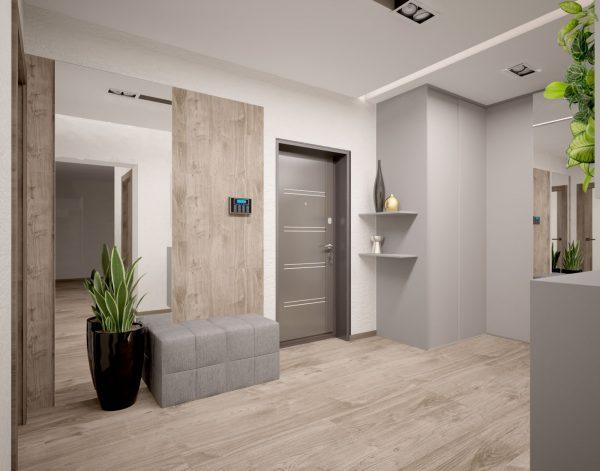 С помощью правильно подобранной цветовой гаммы можно визуально расширить помещение, сделать его уже или просторнее.