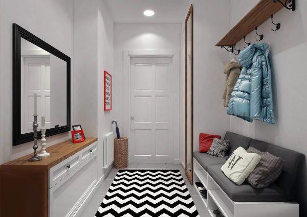 Данное дизайнерское направление характеризуется белым цветом: это основа, на котором базируется весь интерьер.