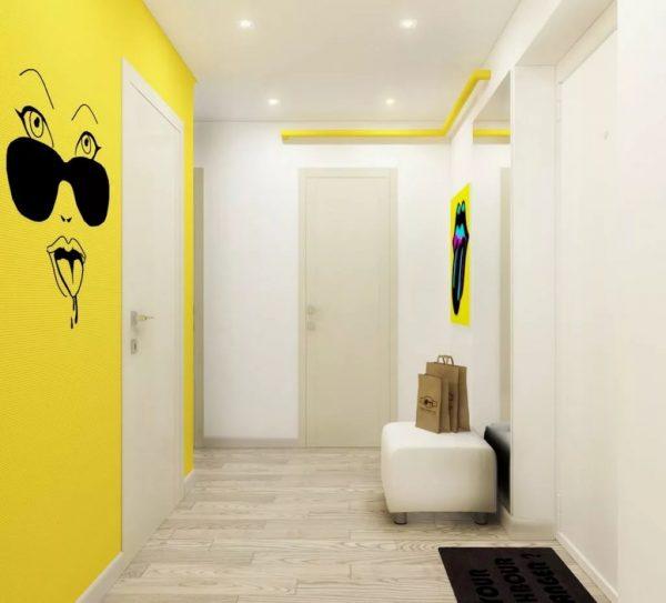 Комната, наполненная солнцем – это все о теплом желтом