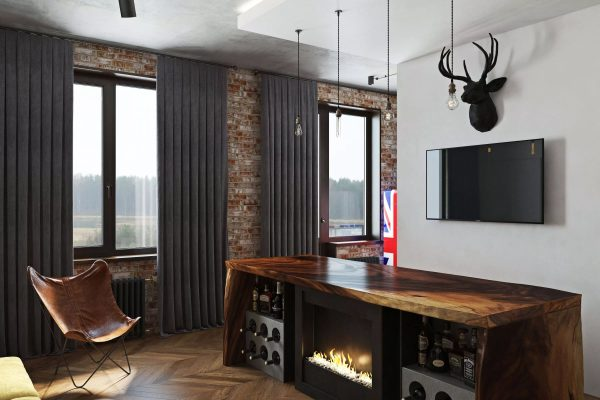 Гостиная комната должна полностью соответствовать характеру хозяев квартиры.