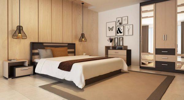 Наиболее приемлемые варианты в качестве мебели – использование прямых форм, а также отсутствие обильного количества декоративных элементов.
