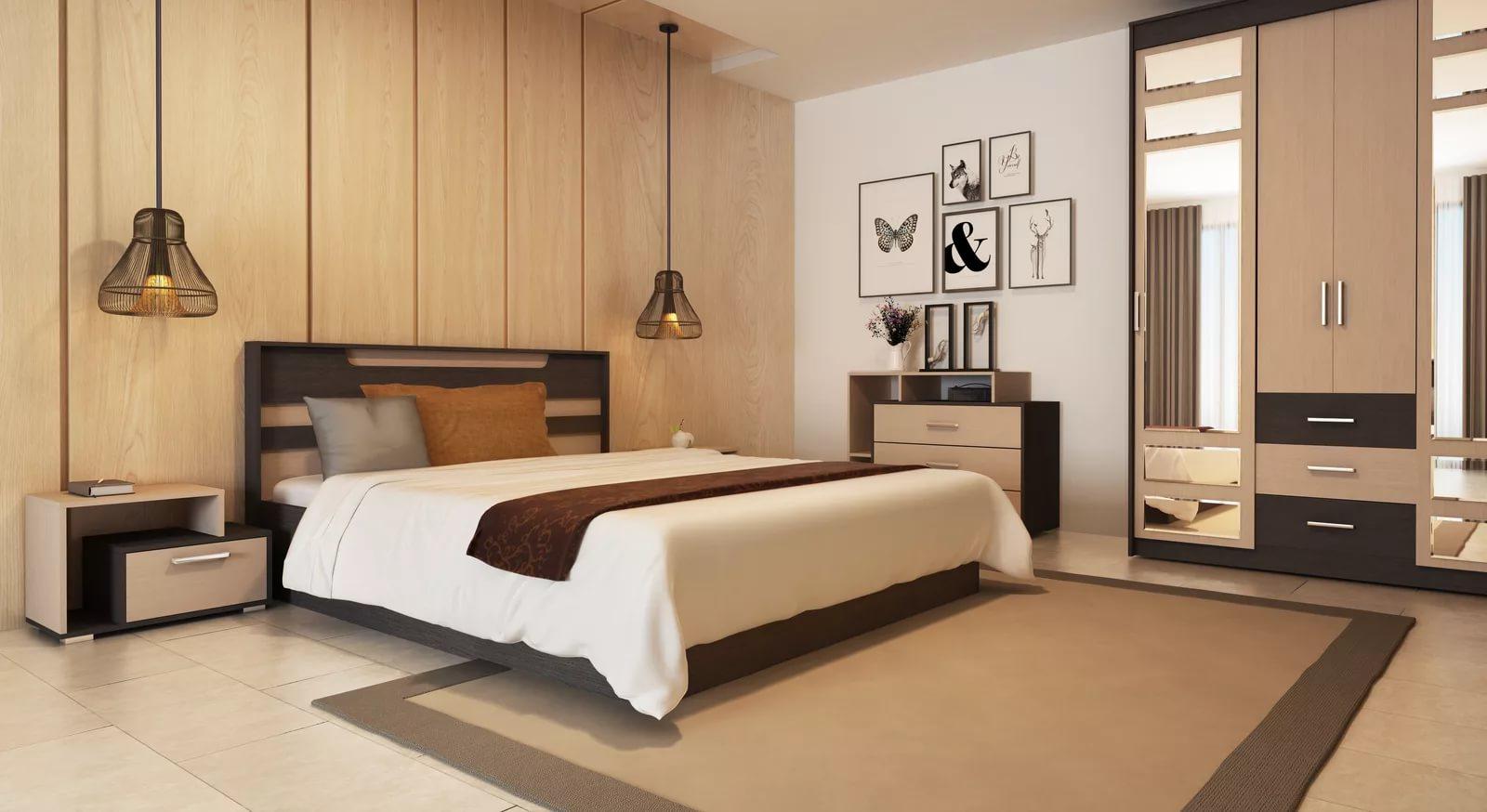 Спальни мебель в картинках