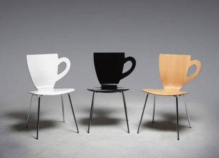 Дизайнерские стулья для кухни.