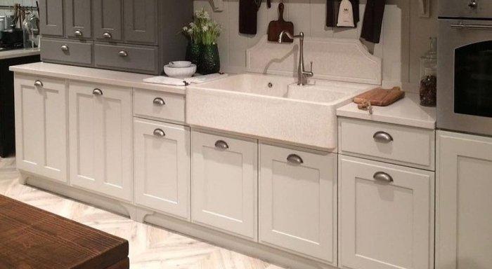 Высота столешниц на кухне.