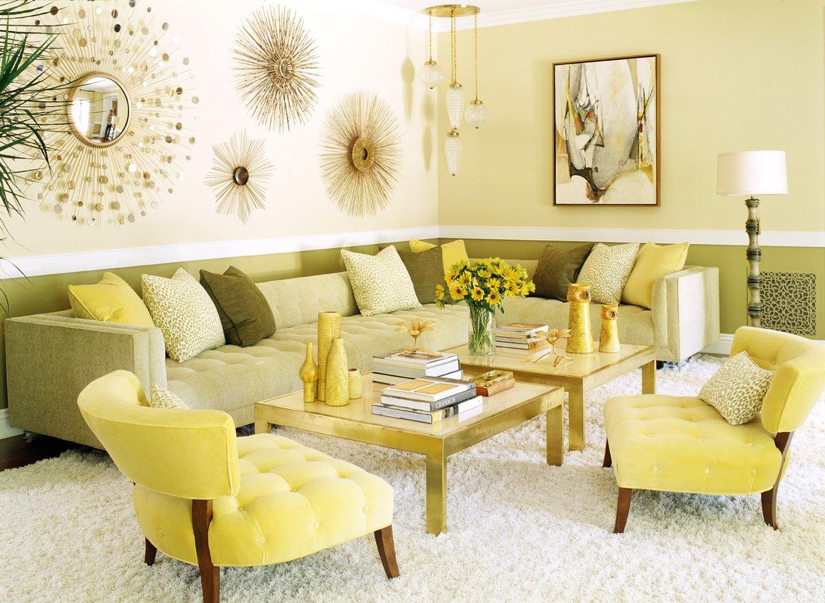 модный сейчас зал в желтом цвете фото сейчас наступает такое