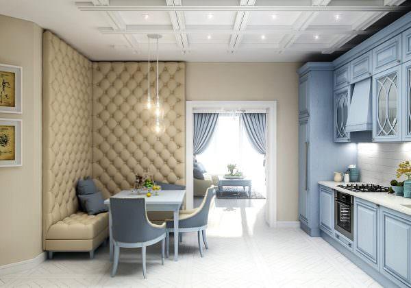 Угловые диваны смотрятся стильно и занимают мало места