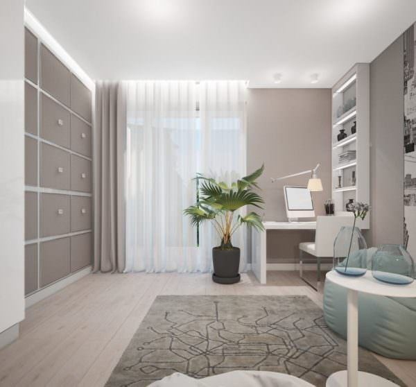 Давно признанный факт, что теплые цвета в комнате располагают к общению и активности.