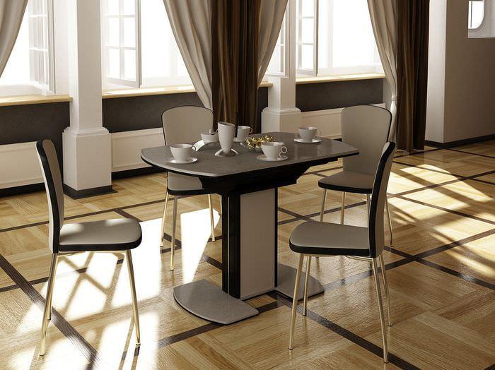 них обеденные столы и стулья для кухни фото вспомнить