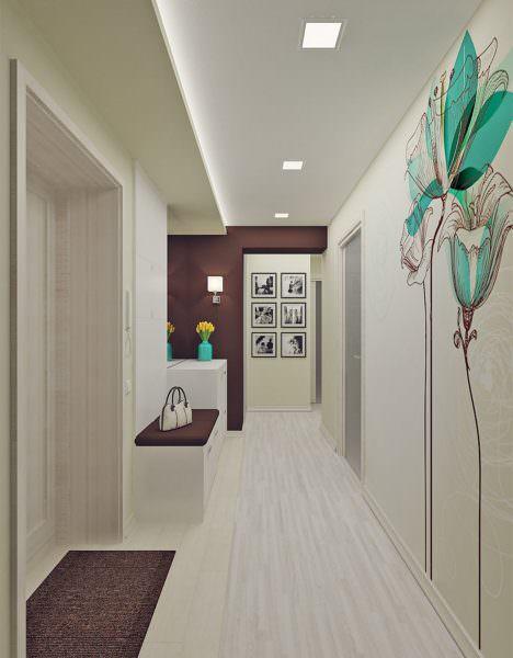 В современном стиле существует большое множество стилей, в которых можно обыграть помещение.
