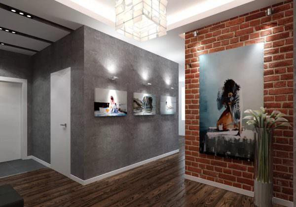 Для отделки помещения в таком стили используют светлые тона, обилие натуральных древесных массивов и стеклом.