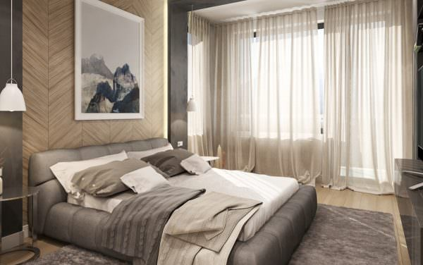Продумывая дизайн интерьера маленькой спальни необходимо учитывать особенности пространства.