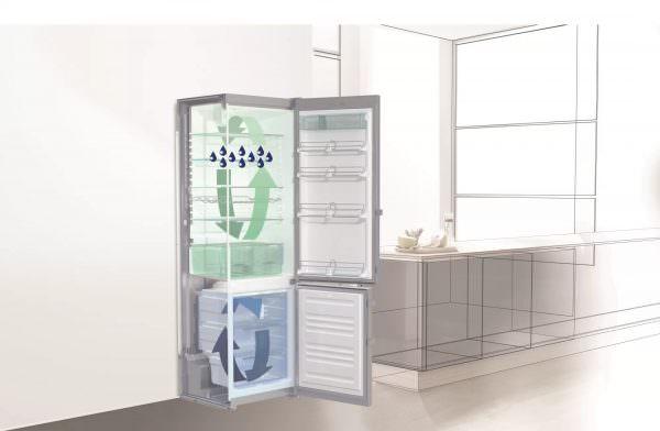 Современные холодильники имеют более двух камер, которые связаны охлаждающим контуром.