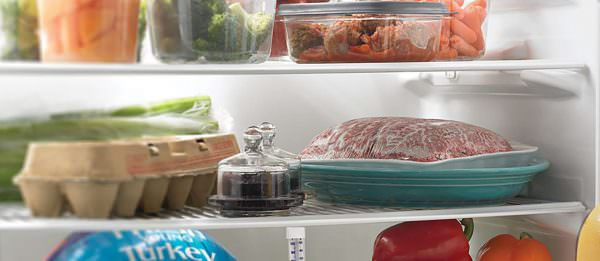 Если мясо будет приготовлено в ближайшие дни, его можно оставить на полке холодильника.