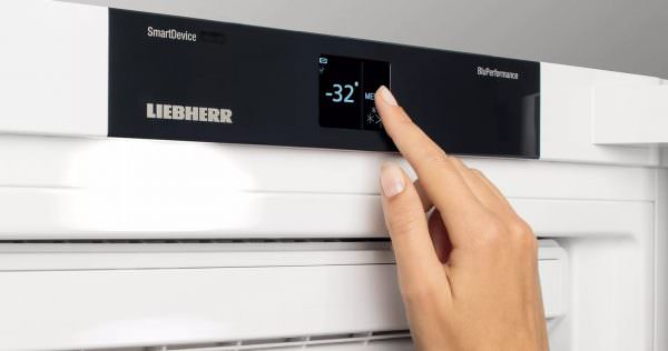 Удобно использовать режим быстрой заморозки, при которой быстро образуется лед. В этом случае температура должна составлять от -24 до -32 °C.