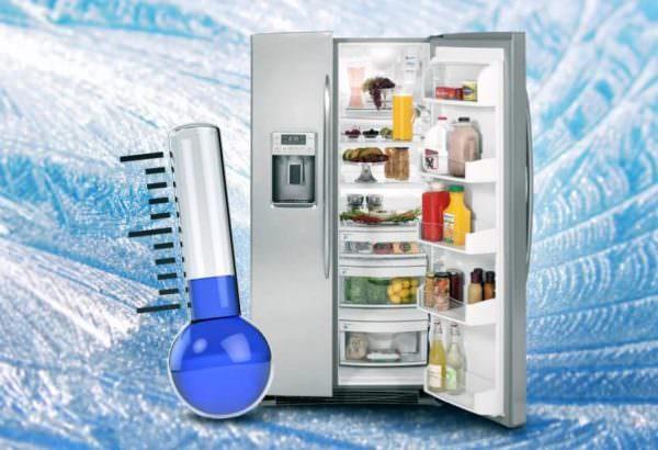 Некоторые владельцы холодильников обнаруживают 4 звезды на дверце. Как и в случае с тремя отметками, это означает, что морозильная камера поддерживает температуру минус 18 градусов.