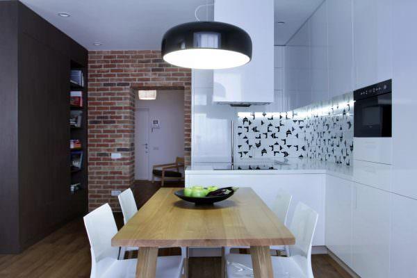 Создавая кухню в стиле минимализма очень важно увеличить пространство как визуально, так и функционально.