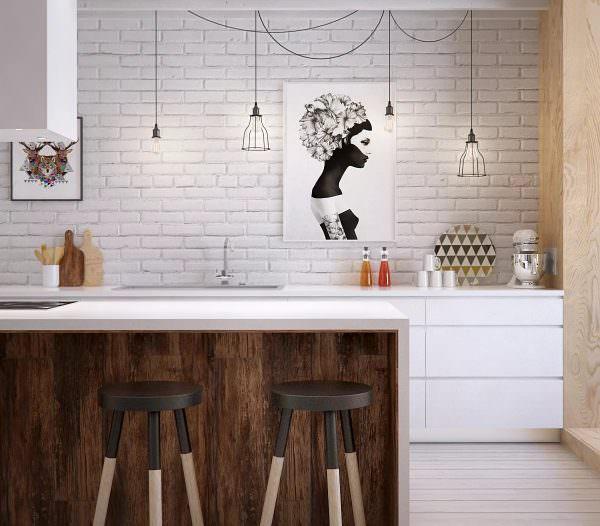 Очень важный совет, который дают все специалисты в области ремонта и благоустройства дома состоит в том, что не стоит отделывать фартук на кухне таким же материалом, который был использован для отделки стен.