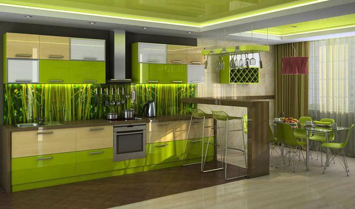 нужны дизайн проекты кухни в зеленом цвете фото нас сайте