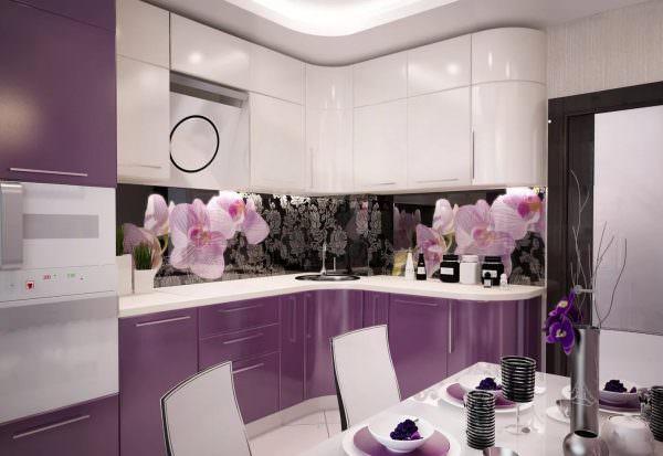 реневая кухня позволяет оформить пространство невообразимыми способами.