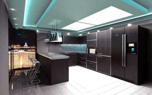 Чем больше источников света, тем лучше для всего помещения.