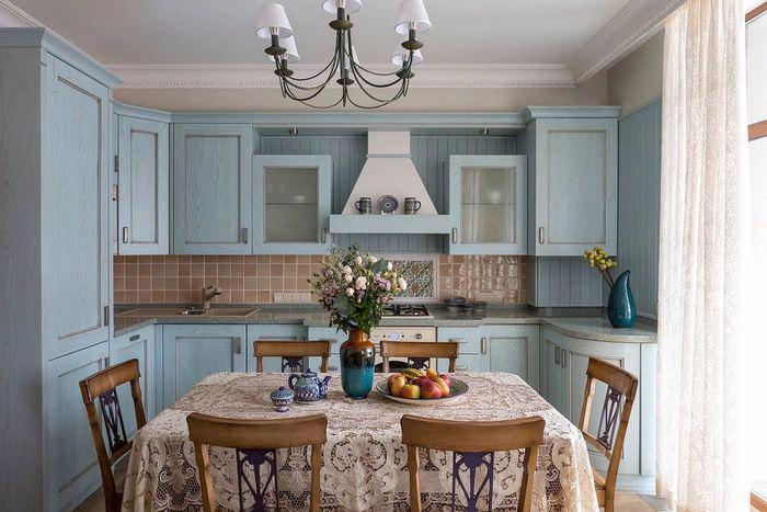 кухни в стиле прованс все картинки