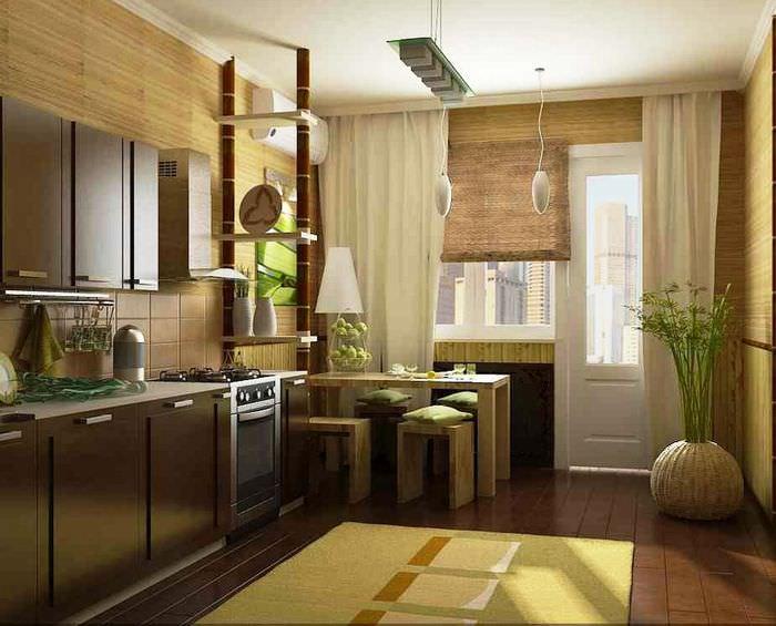 рассказали том, кухни под бамбук дизайн фото обзор самых удачных