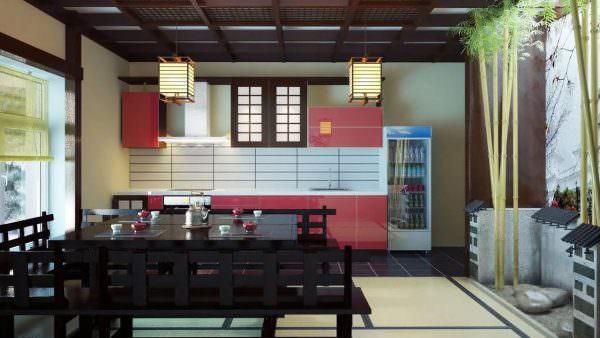 Задача дизайнера, создающего стиль кухни, учесть все пожелания заказчика по соответствию вкусу и условиям жизни.