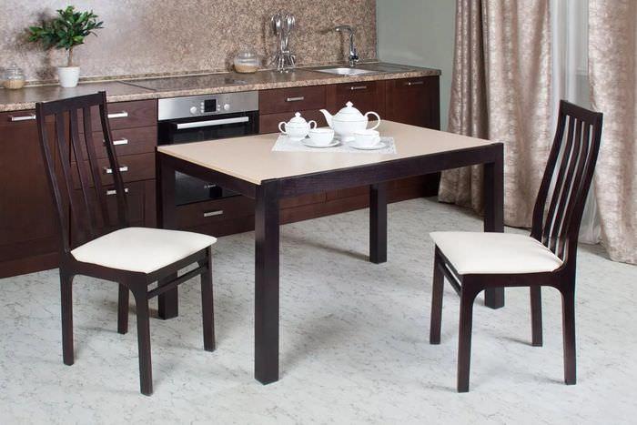 бывает обеденные столы для кухни в картинках волосы