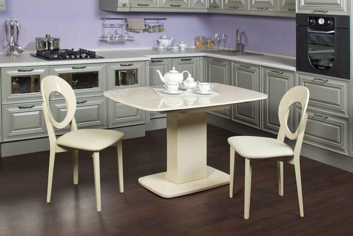 обеденные столы для кухни в картинках правильно
