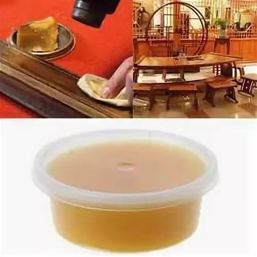 Так, для ухода за натуральной древесиной полезными элементами являются пчелиный мед и воск.