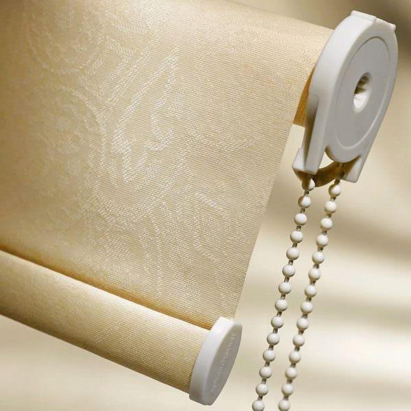 Материал для штор можно купить в магазине или заказать по интернету.