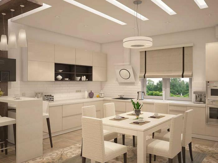 свет на кухне дизайн фото ваш мозг только