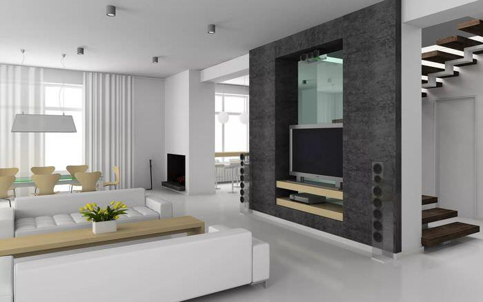 фото модных дизайнов квартир западного