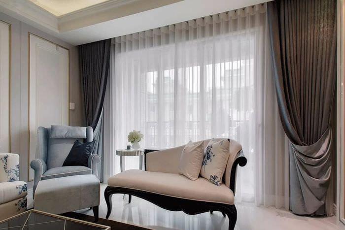 Красивые шторы в гостиную фото новинки