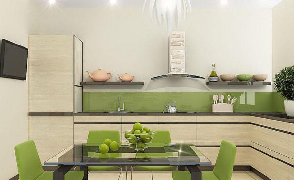 Минималистичная комната выполняется в одном цвете, с использованием только самых необходимых предметов меблировки, практически без декора.