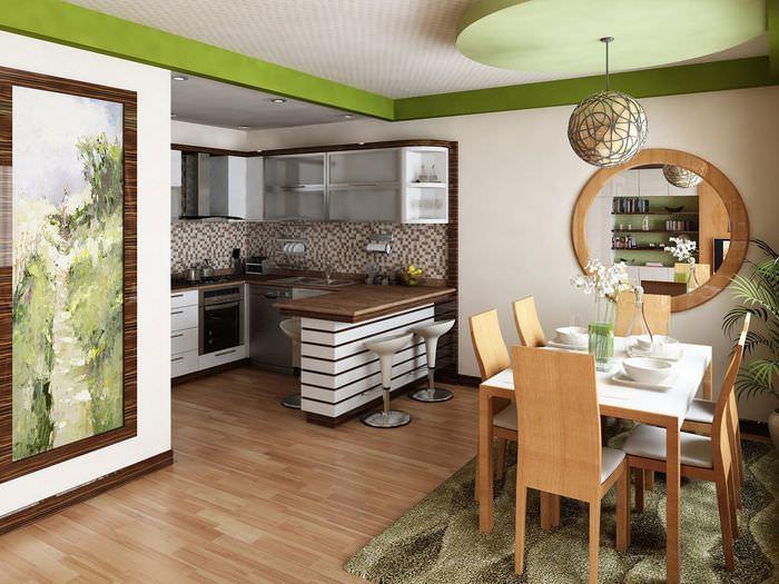 идеи ремонта для кухни столовой фото тому такая