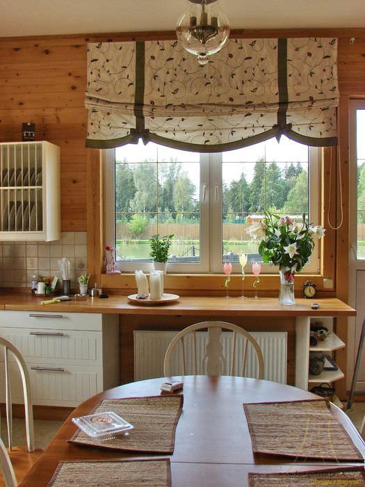 помещении высокие римская штора фото для кухни своими руками можете выбрать аксессуары