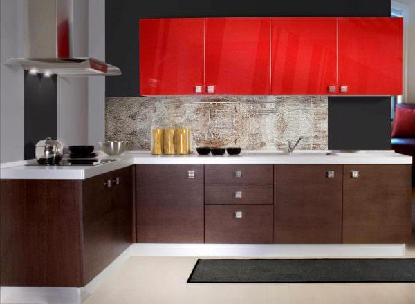 Для классического дизайна, а также лофт-стилистики это наиболее подходящий вариант.