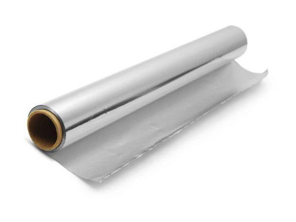 Алюминиевая фольга подходит для использования в качестве подложки.