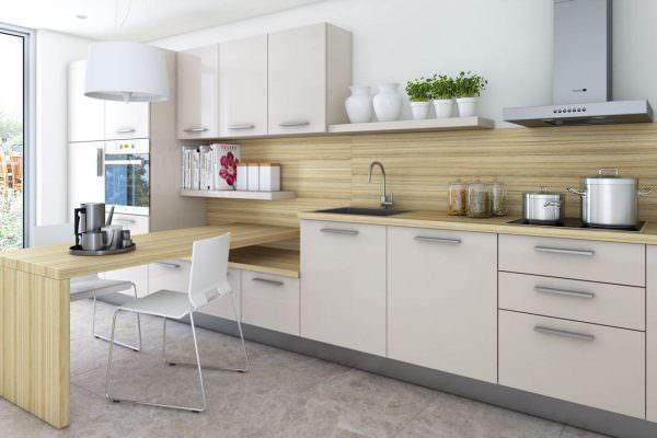 Белый – такой же универсальный цвет, а потому можно использовать эту комбинацию для интерьеров в любом стиле.
