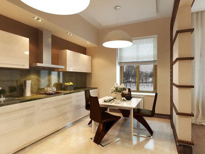 Кухни с подсветкой фото дизайн днём рождения