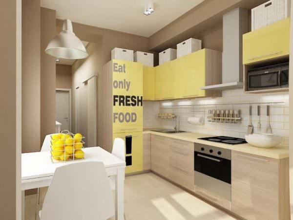 Основным преимуществом желтого является его яркость и выразительность