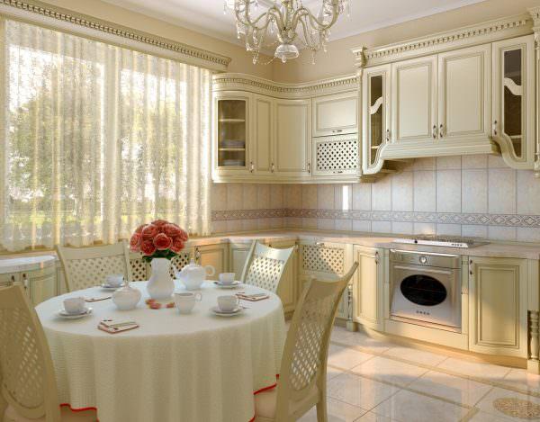 Однако, если кухня будет переполнена пастельными цветами, она будет казаться слишком однотонной.